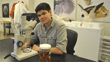 Student biologist wins top prize